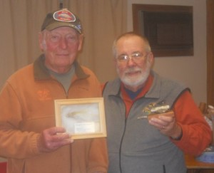 Two longtime friends exchanged presents at out last meeting.